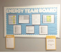 Communicate with an energy board!