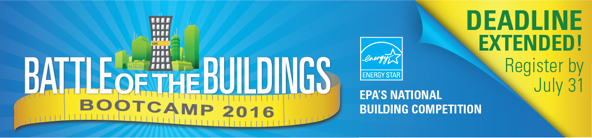 Battle of the Building Bootcamp 2016 - Deadline extended! Register by July 31, 2016!