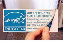 Static cling decal for buildings