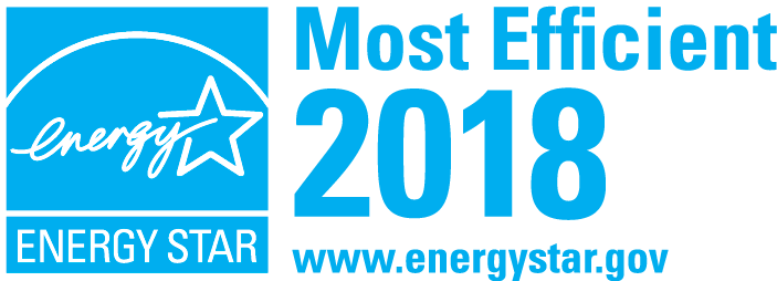 ENERGY STAR Most Efficient in 2018