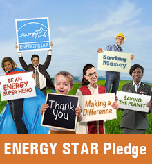 Take the ENERGY STAR Pledge