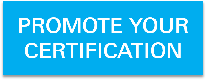 Promote Your Certification