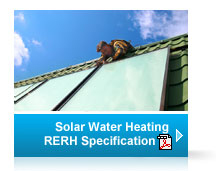 Solar Water Heating RERH Spec