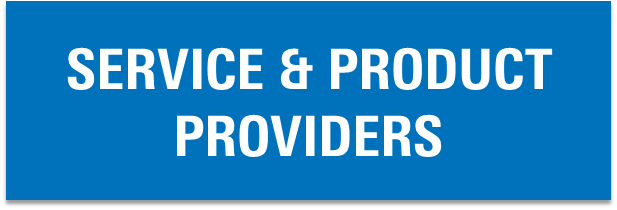 Button that says service and product providers