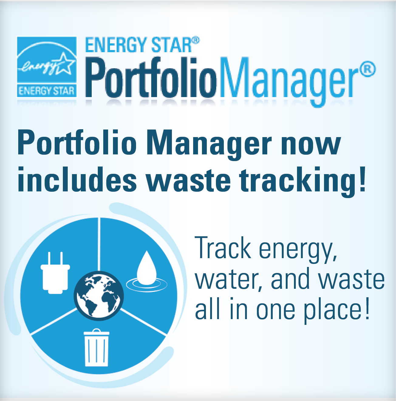 Portfolio Manager New Includes Waste Tracking!