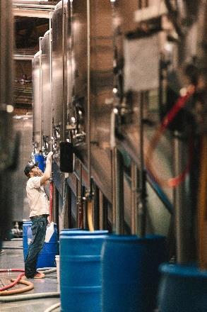 Photo at brewery