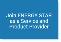 Join ENERGY STAR as a Service and Product Provider