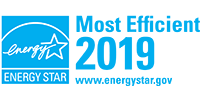 ENERGY STAR Most Efficient Logo 2019