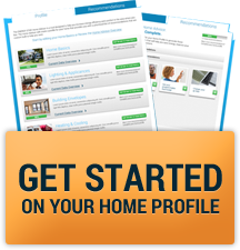 Get started on your home profile
