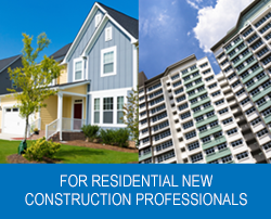 For residential new professionals