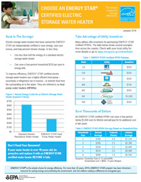 Soak in the Saving Factsheet cover