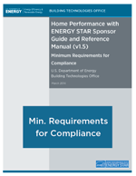 Minimum requirements for compliance including narrative for specifications