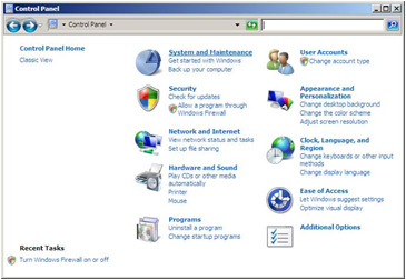 Manually activating power management in Windows Vista Image 1
