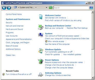 Manually activating power management in Windows Vista Image 2
