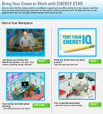 Bring Your Green to Work Homepage