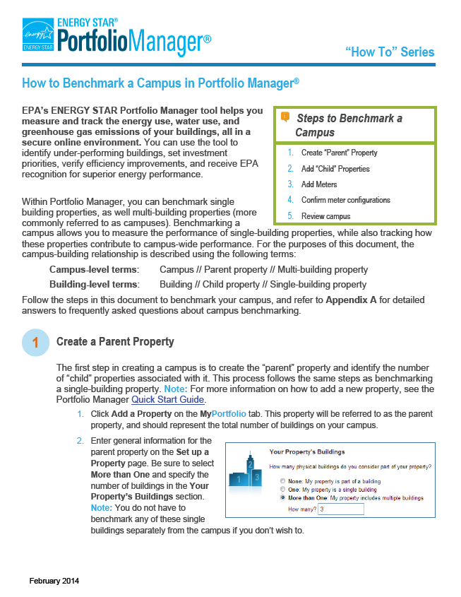 First page of How to Benchmark a Campus