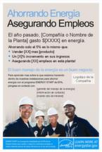 awareness poster in Spanish