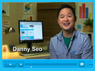 Screenshot of a Danny Seo video