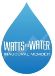 Watts to Water inaugural member logo