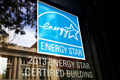 Photo of an ENERGY STAR decal.
