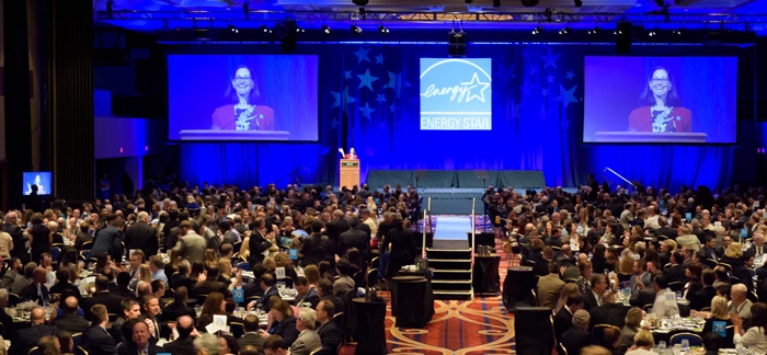 photo of the ENERGY STAR Awards Ceremony