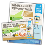 Hear a Hiss Report This activity kit