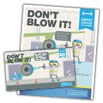 Don't Blow It activity kit