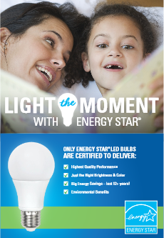 Light the Moment Shelf-talker Image 1