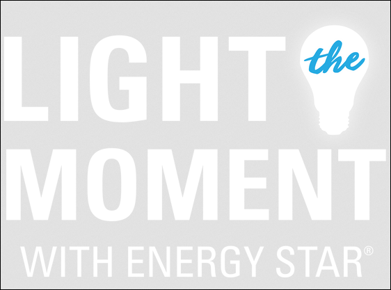 Light the Moment WordMark Vertical