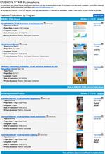 ENERGY STAR Publications online