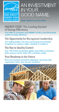 ENERGY STAR Certified Homes - Roll Up Exhibit Banners