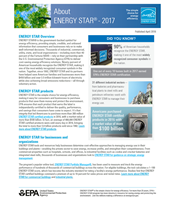 ENERGY STAR Factsheets About ENERGY STAR thumbnail