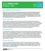 About Energy Star Products