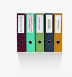 colorful binders