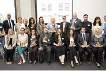 Winners of the third annual Chicago Green Office Challenge in 2013