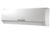 image of a ductless heating and cooling unit