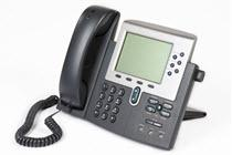 image of a VOIP phone
