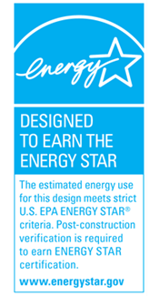 Designed to Earn the ENERGY STAR label