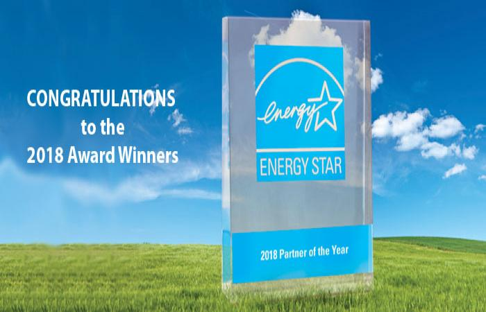 2018 ENERGY STAR Congratulations