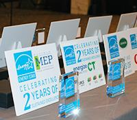 photo of awards and awardees