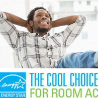 The cool choice for room AC