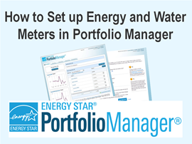 How to Set up Energy and Water Meters in Portfolio Manager
