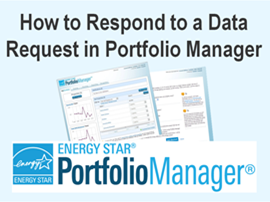 How to Respond to a Data Request in Portfolio Manager