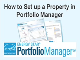 How to Set up a Property in Portfolio Manager