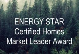 ENERGY STAR Certified Homes Market Leader Award