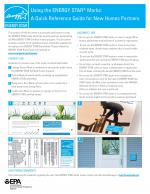 Using the ENERGY STAR Marks - A Quick Reference Guide for New Homes Partners