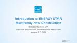 Overview of ENERGY STAR Multifamily New Construction Webinar Slide (8/17/2021)