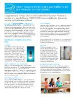 Certified Homes Maintenance Guide