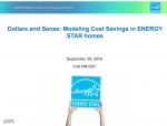 Dollars and Sense: Modeling Cost Savings in ENERGY STAR homes thumbnail