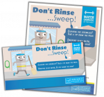 Sweep Dont Rinse activity kit